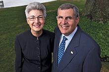Elizabeth Harden and Richard Hoefer